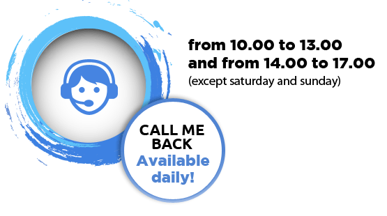 Call-me-back service open daily!